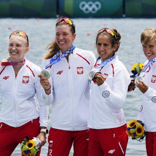 Polki popłynęły po medal